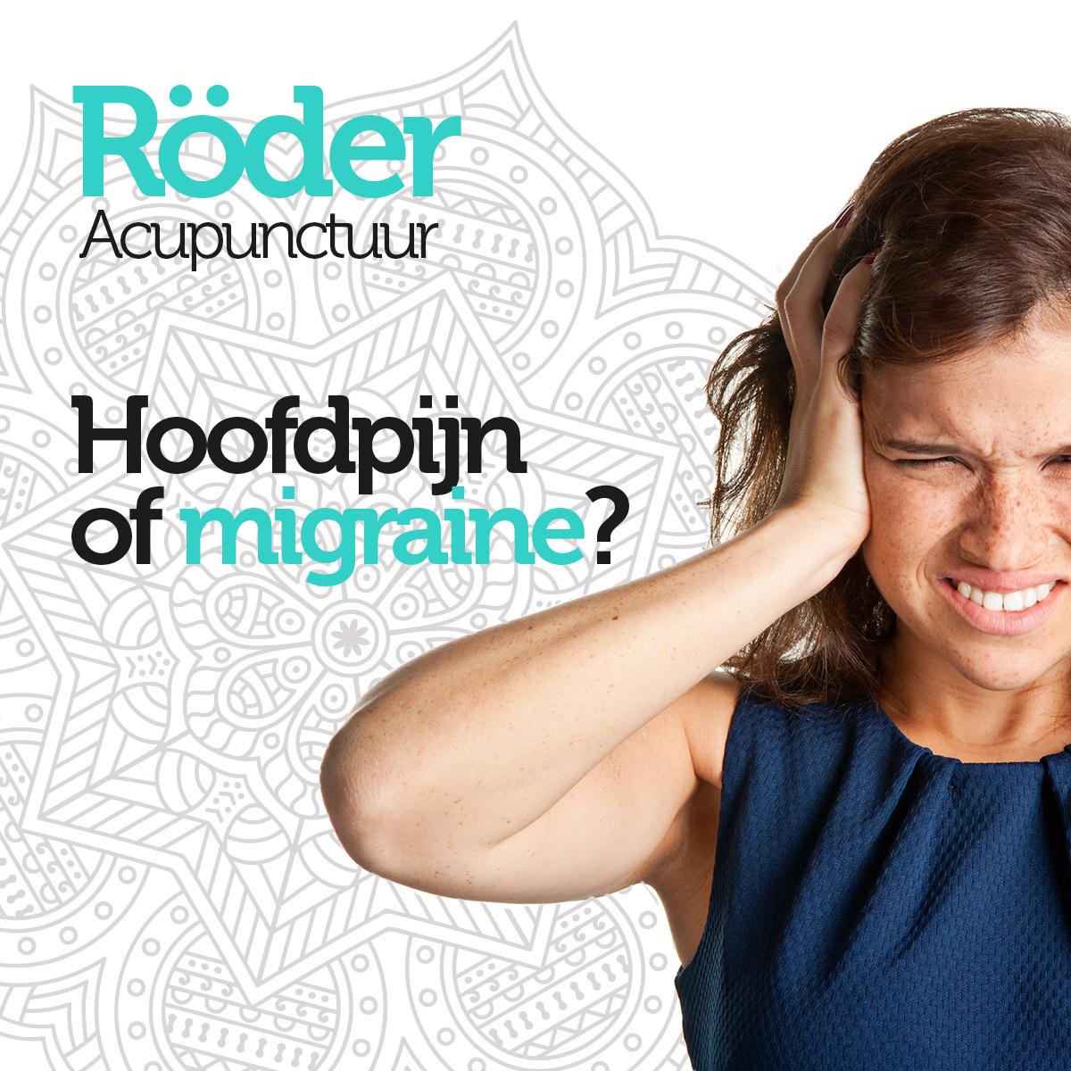 Acupuntuur tegen Migraine